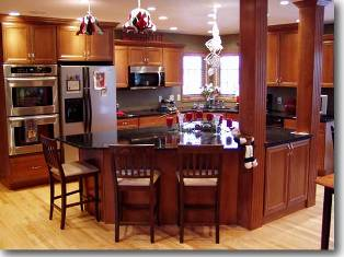 picture of a kitchen for advertising